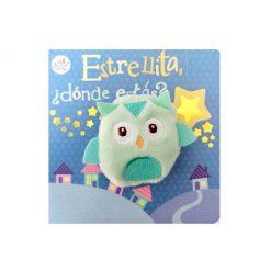 Libro infantil Titere... - estrellita, ¿donde estás?