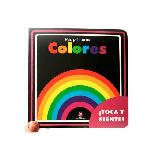 libro infantil toca y siente mis primeros colores contrapunto