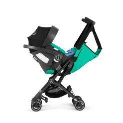 Coche Travel system Pockit plus AT N. blue + silla Aton + base