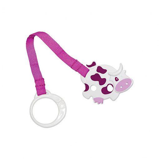 Clip cinta sujeta chupete animales First Essentials