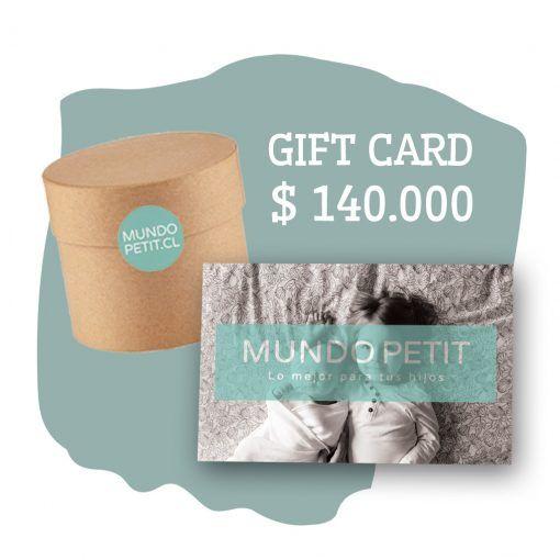gift card Mundo Petit $140.000
