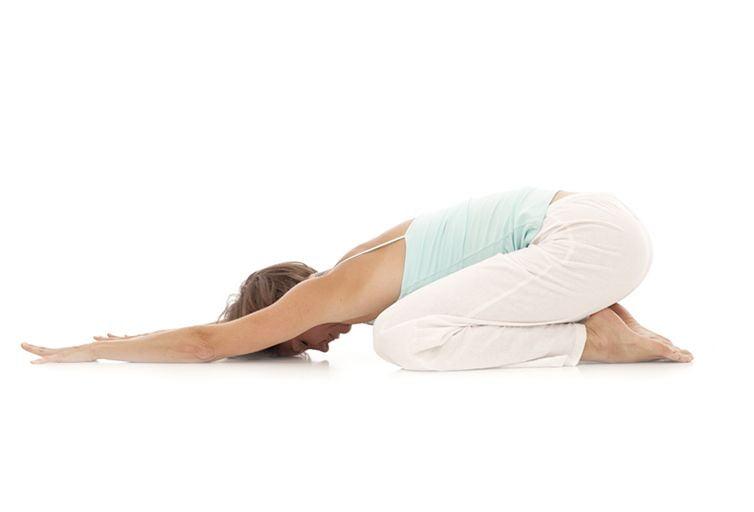 yoga embarazada Adho Mukha Virasana