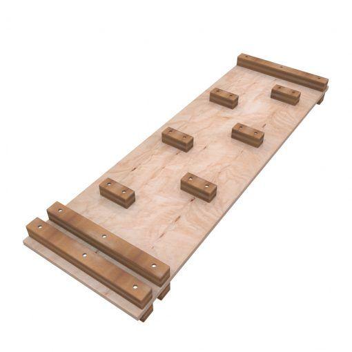 Juego de madera rampa trepador Pikler Craft Toys