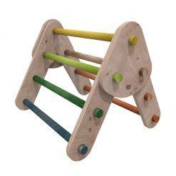 Juego de madera triángulo de escalada Pikler pequeño