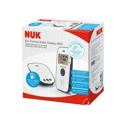Monitor Babyphone Eco Control Audio Display 530D NUK