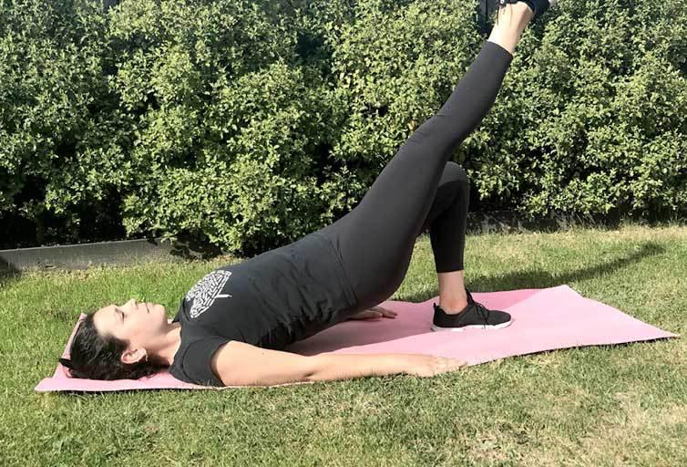 diástasis abdominal ejercicio