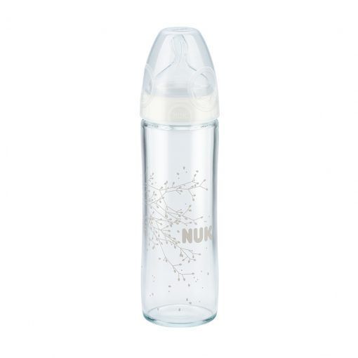 Mamadera de vidrio First Choice 240 ml NUK