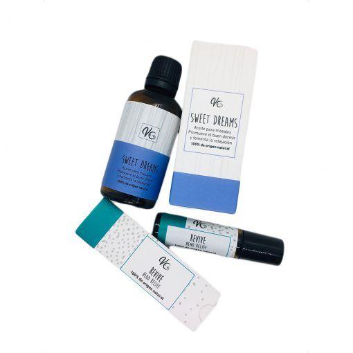 Pack 2 aceites terapéuticos Vale Guiloff