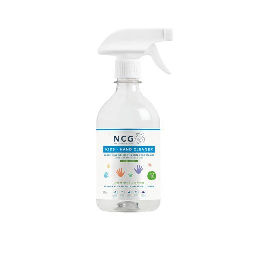 Jabón higienizante infantil para manos sin enjuague