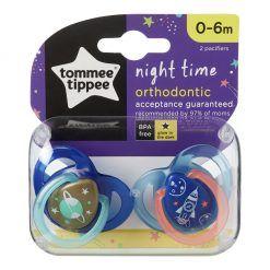 Chupete Silicona Night Etapa 1. 0-6 meses Tommee Tippee