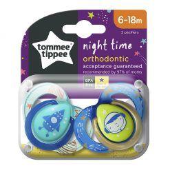 Chupete de silicona Night Time. Etapa 2. Tommee Tippee