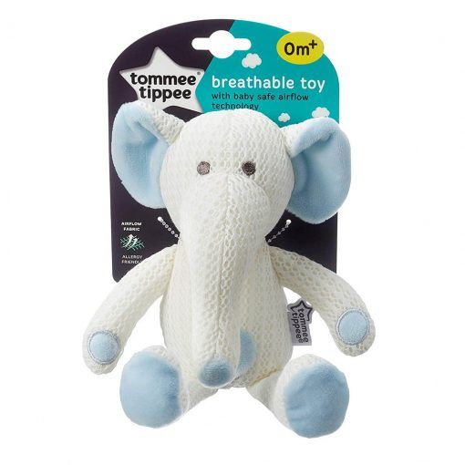 Peluche transpirable Eddy el Elefante Tommee Tippee