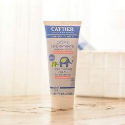 Crema hidratante para la cara y cuerpo de niños y bebés