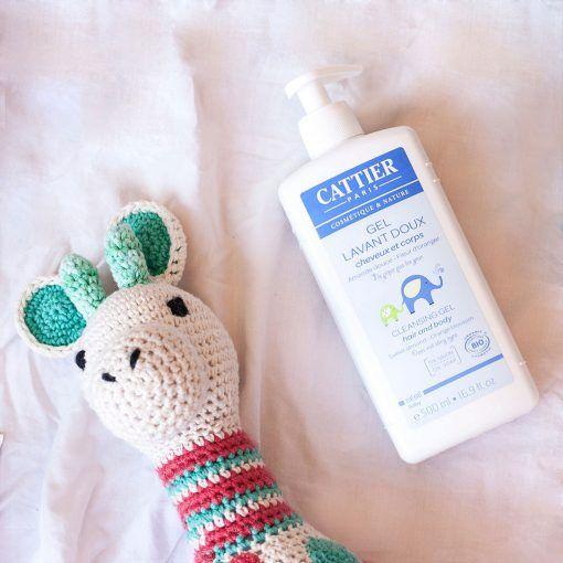 Gel de baño para cuerpo y cabello Cattier